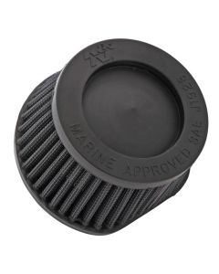 59-2042RK K&N Marine Flame Arrestor - Race Specific, Black