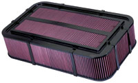 K&N Carbon Fiber Injection Stack Filter 100-8580