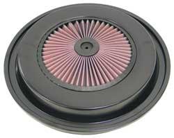Black Air Filter Top