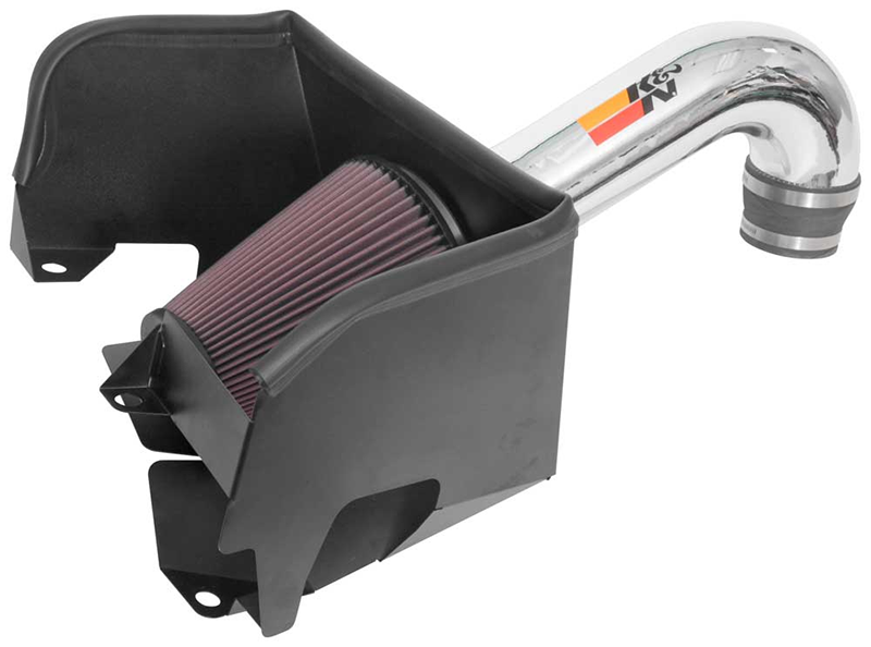 77-1578KP cold air intake system front view