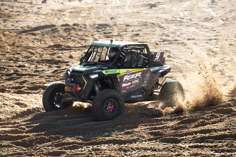 sand racer at king of the hammers