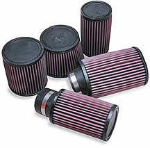 "2-7/16"" Flange Mount - Go Kart Air Filter & Wrap"