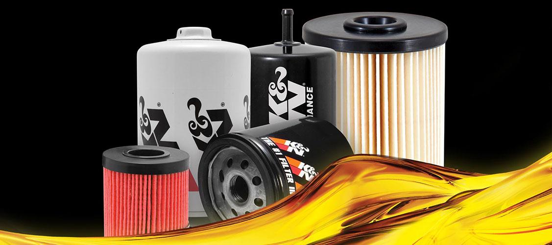 oil filter banner